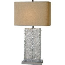"Stalagmos 29.5"" H Table Lamp with Square Shade"