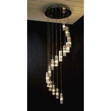 Spirale 16 Light Crafted Chandelier