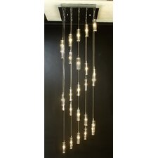 Icarus 25 Light Chandelier with Shade
