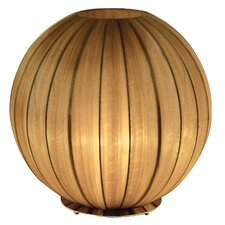 """Shanghai 17"""" H Table Lamp with Sphere Shade"""