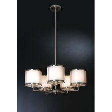 Lux 5 Light Chandelier