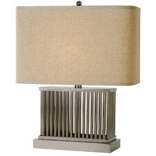 "Escape 20"" H Table Lamp with Rectangle Shade"