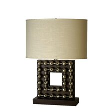 "Preston 27"" H Square Table Lamp"