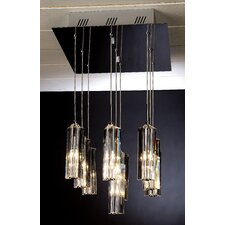 Diamante 9 Light Pendant