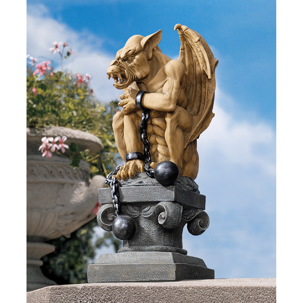 ... Ball And Chain Gothic Gargoyle