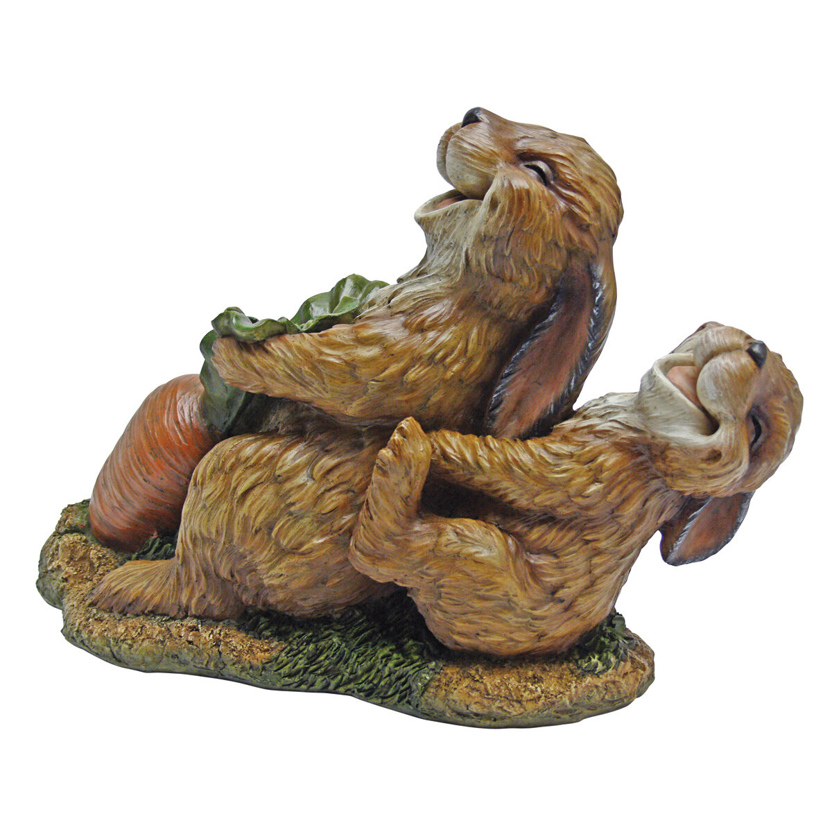 Design Toscano The Carrot Crew Rabbit Statue
