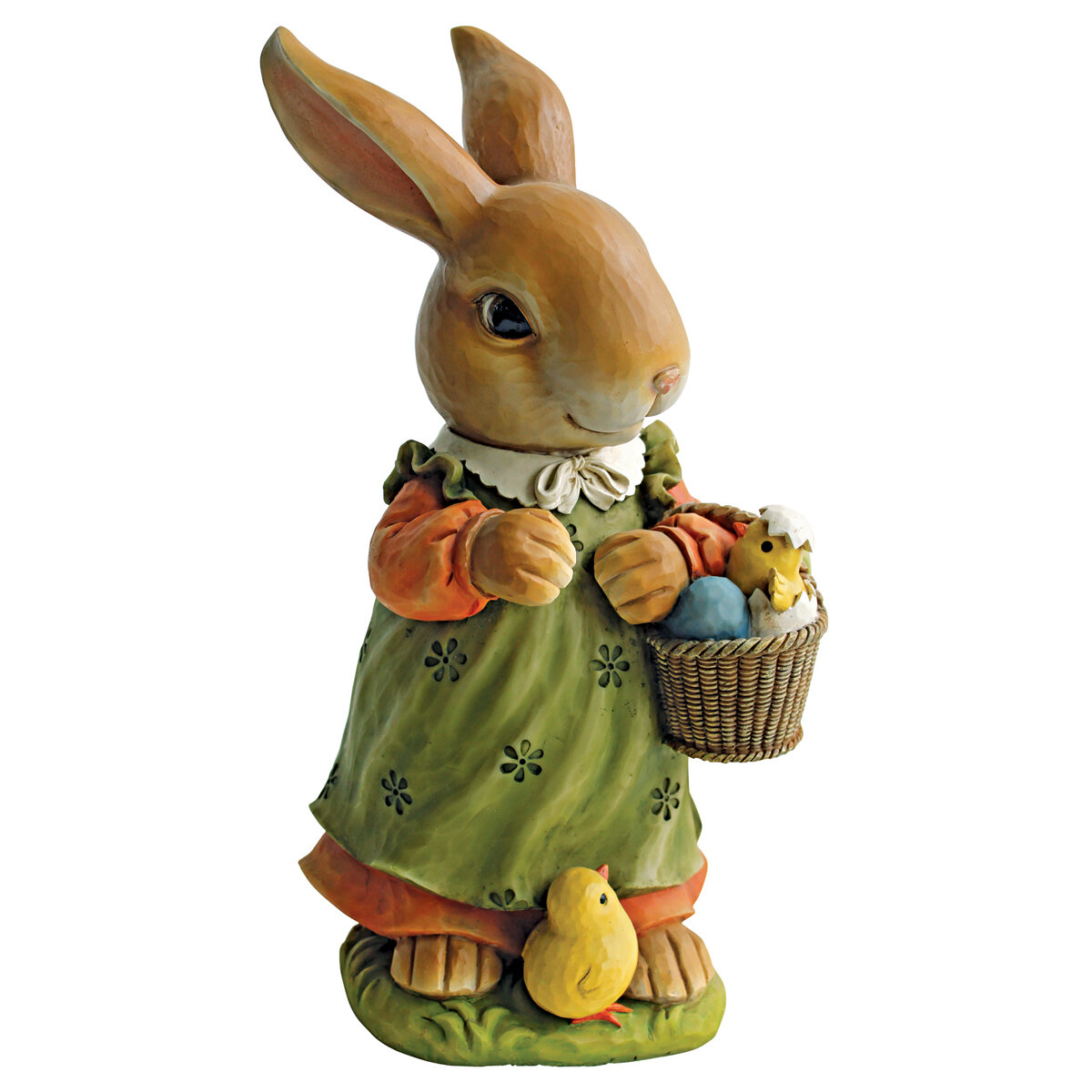 Design Toscano Bunny Hop Lane Mother Rabbit Statue