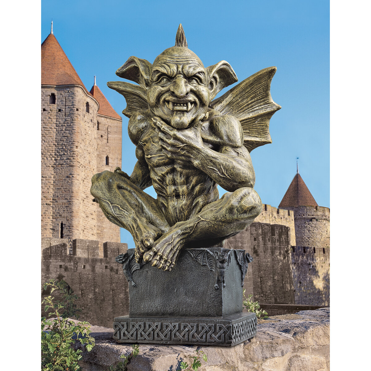 Create a Gothic Garden Theme with Gothic Dragon Gargoyles