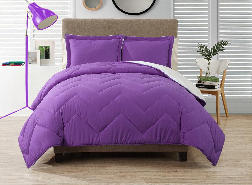 Purple Chevron Bedding Bedroom White Black And Purple  : Victoria Classics Carribiean Joe Comforter Set from franklinpennsylvania.us size 1000 x 734 jpeg 217kB
