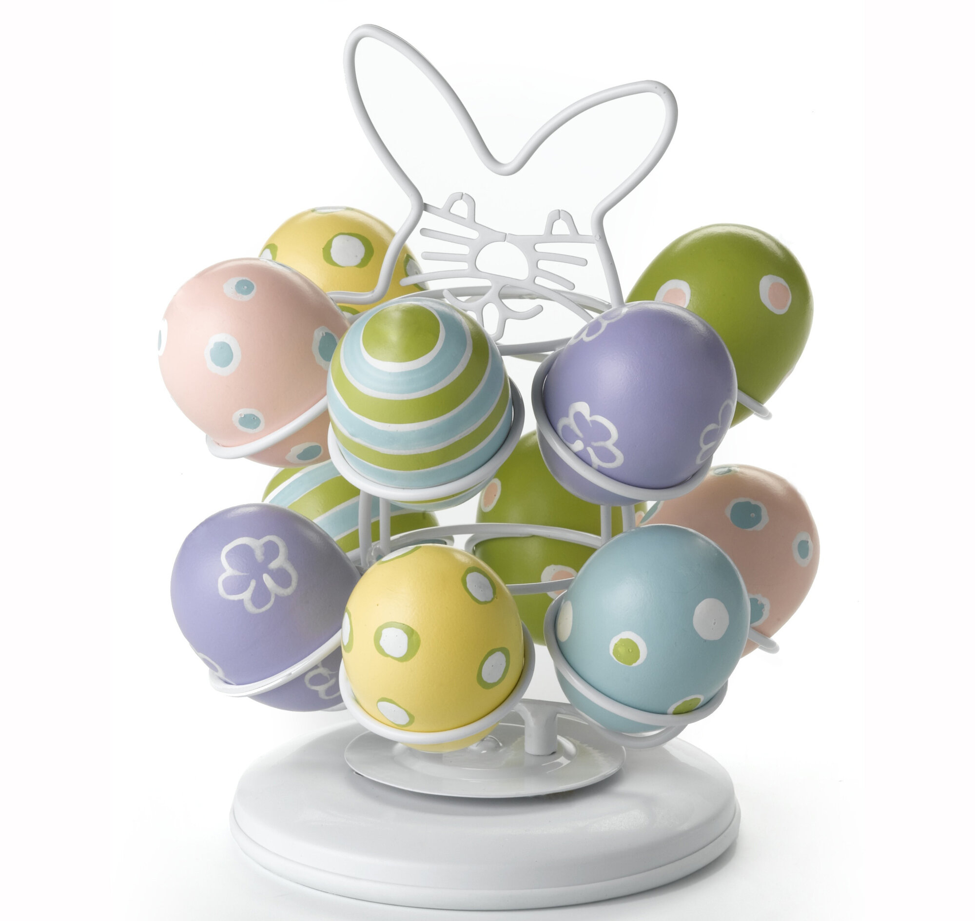 Nifty Home Products Easter Egg Carousel