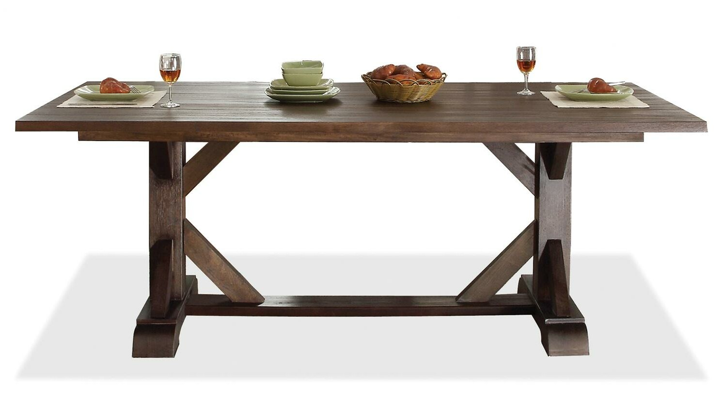 hardware salvaged wood x based extension table decor look alikes