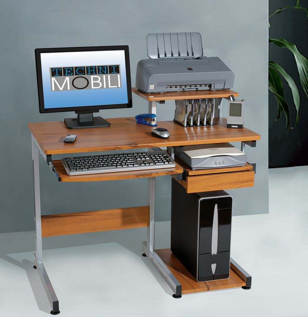 Small Wood Computer Desk ~ Small computer laptop table desk furniture home office
