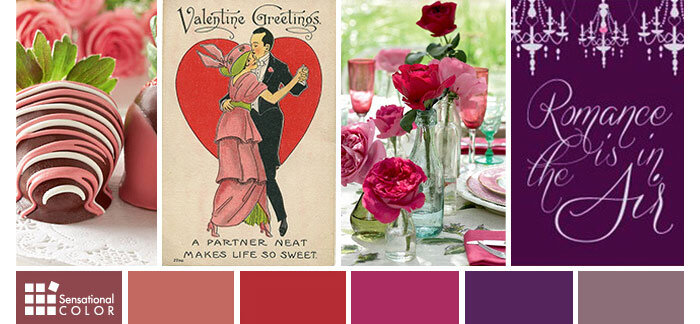 valentine's colors