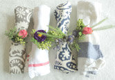 How to Make Floral Napkin Rings
