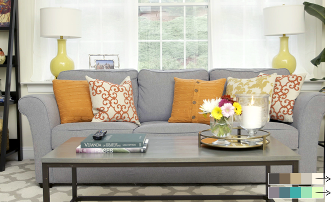 Decorating with a Warm Color Palette Inspired By