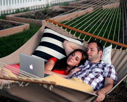 hammock date night
