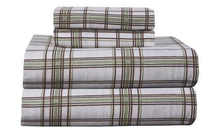 plaid sheets