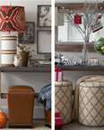 transition from fall to winter decor