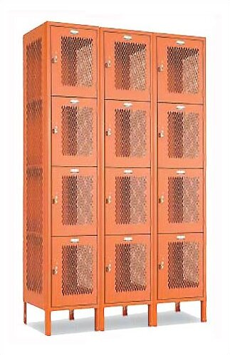4 Tier Ventilated Locker Penco
