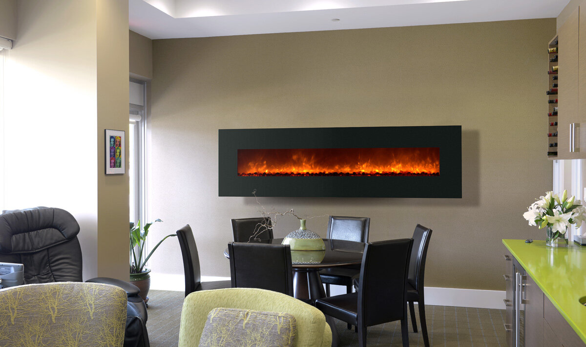 Mounted Fireplace