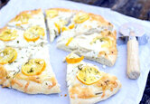 Meyer Lemon Pizza Recipe