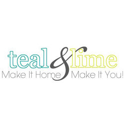 teal and lime logo