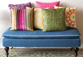 Patterned Accent Pillows Under $30