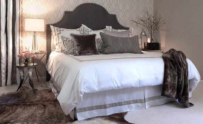 glamorous bedroom decor