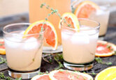 Grapefruit and Thyme Lemonade