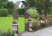 Enhance your Garden with Arches and Arbours