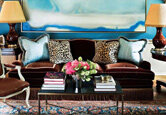 Get the Look: Dramatic Living Room