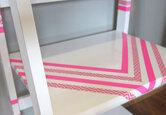 DIY Washi-Tape Furniture Makeover
