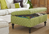 Build It or Buy It: Storage Ottoman