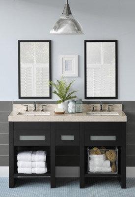 Neutral Bathroom Decorating Riffing On Wayfair
