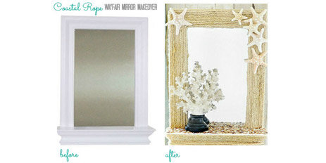 rope mirror DIY