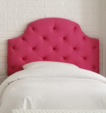 pink headboard