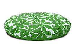 green dog bed