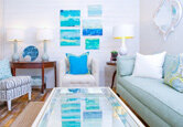 Decorating with Ocean Hues