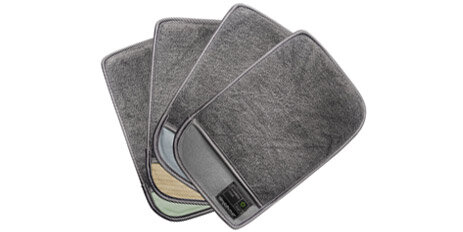 microfiber cleaning mitt