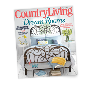 Country Living July Aug