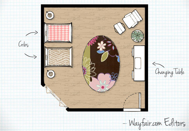 Baby Nursery Room Layouts Wayfair