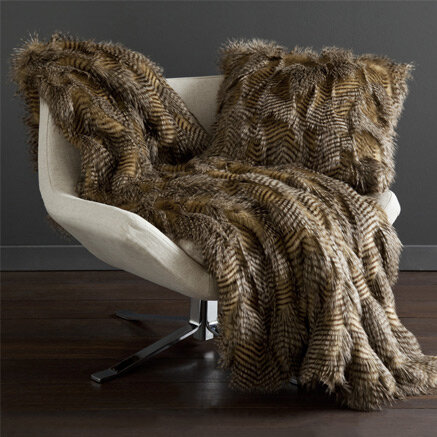 furry throw