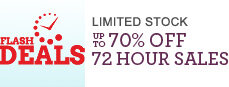 Flash Deals - 72 hours only