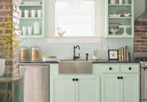 Decorating with Mint in the Kitchen