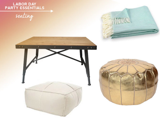 labor day essentials seating