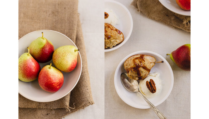 pears and pear crisp