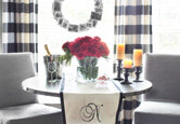 A Crafty Holiday Dining Room