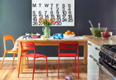 Colorful and Casual Dining Room