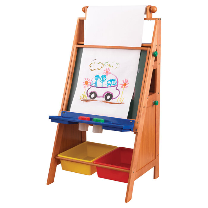 Toddler Art Desk With Storage