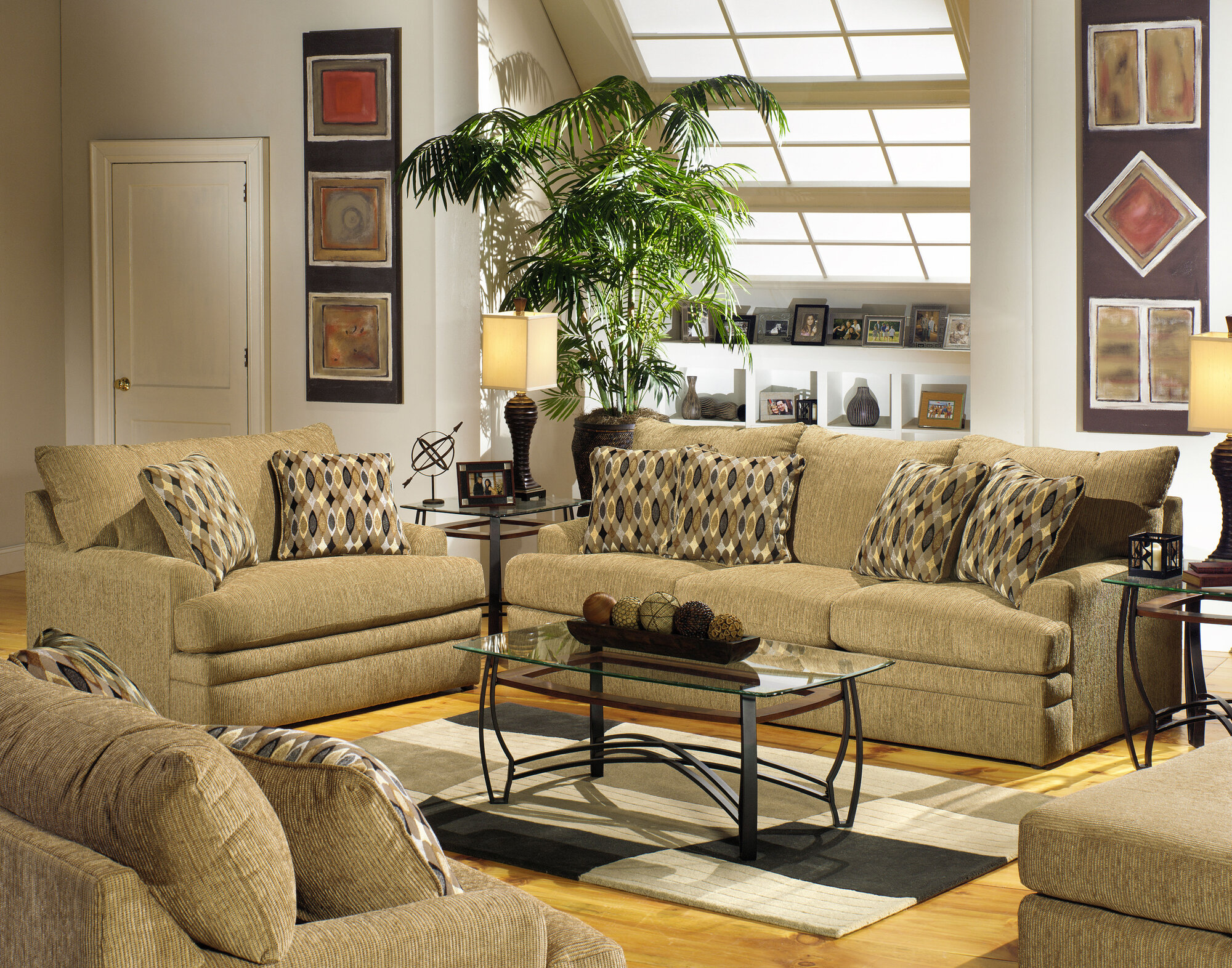 No Credit Check Jackson Furniture Avery Living Room Collection